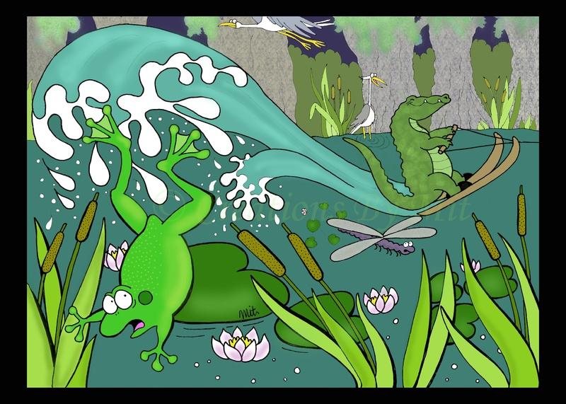 Illustration Friday - SWAMP